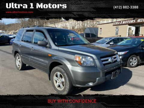 2007 Honda Pilot for sale at Ultra 1 Motors in Pittsburgh PA