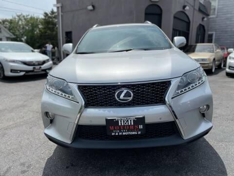 2014 Lexus RX 350 for sale at H & H Motors 2 LLC in Baltimore MD