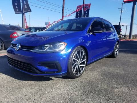 2018 Volkswagen Golf R for sale at ON THE MOVE INC in Boerne TX