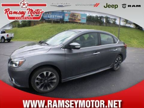 2017 Nissan Sentra for sale at RAMSEY MOTOR CO in Harrison AR