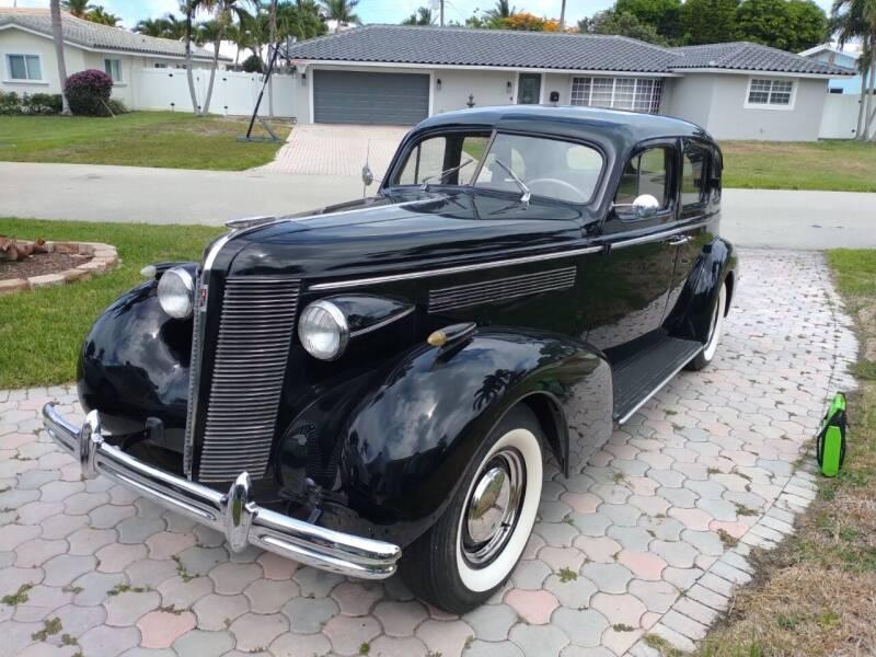 1937 Buick 1937 BUICK CENTURY SEDAN for sale at LAND & SEA BROKERS INC in Deerfield FL