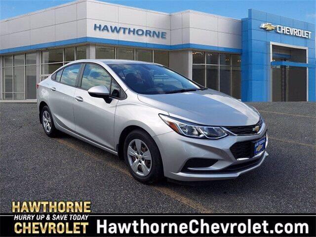 2018 Chevrolet Cruze for sale at Hawthorne Chevrolet in Hawthorne NJ