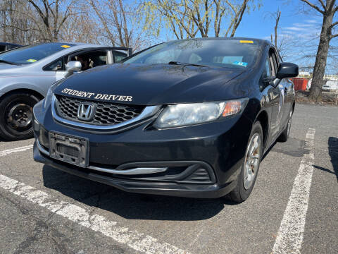 2013 Honda Civic for sale at JerseyMotorsInc.com in Teterboro NJ