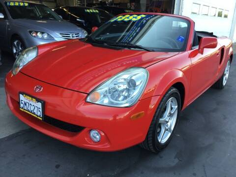 2005 Toyota MR2 Spyder for sale at My Three Sons Auto Sales in Sacramento CA