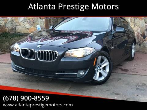 2011 BMW 5 Series for sale at Atlanta Prestige Motors in Decatur GA