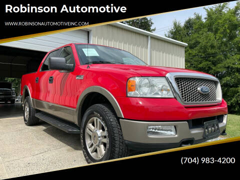 2005 Ford F-150 for sale at Robinson Automotive in Albemarle NC
