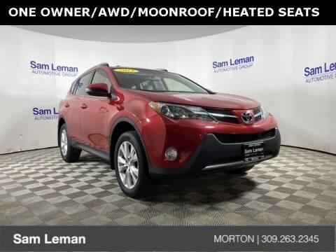 2015 Toyota RAV4 for sale at Sam Leman CDJRF Morton in Morton IL