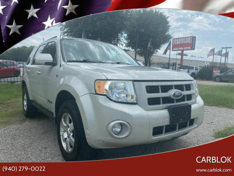 2008 Ford Escape for sale at CARBLOK in Lewisville TX