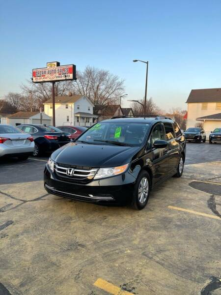 2014 Honda Odyssey for sale at Dream Auto Sales in South Milwaukee WI