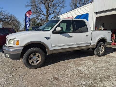 2002 Ford F-150 for sale at AUTO PROS SALES AND SERVICE in Belleville IL