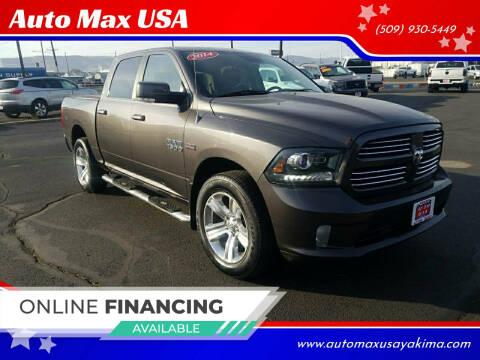 2014 RAM Ram Pickup 1500 for sale at Auto Max USA in Yakima WA