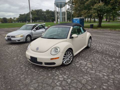 2008 Volkswagen New Beetle Convertible for sale at Flag Motors in Columbus OH