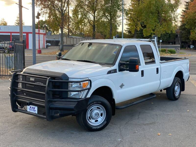 2014 Ford F-250 Super Duty for sale at KAS Auto Sales in Sacramento CA