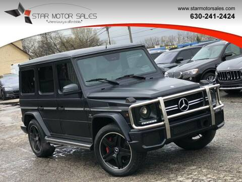 2013 Mercedes-Benz G-Class for sale at Star Motor Sales in Downers Grove IL