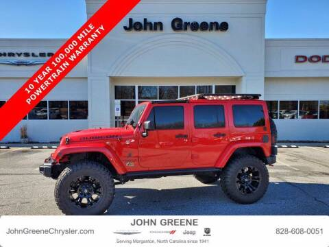 2016 Jeep Wrangler Unlimited for sale at John Greene Chrysler Dodge Jeep Ram in Morganton NC