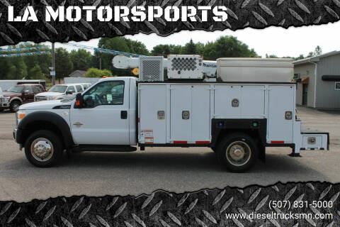 2012 Ford F-550 SUPERDUTY for sale at LA MOTORSPORTS in Windom MN