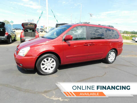 2006 Kia Sedona for sale at Buy Right Auto Sales Inc in Fort Wayne IN