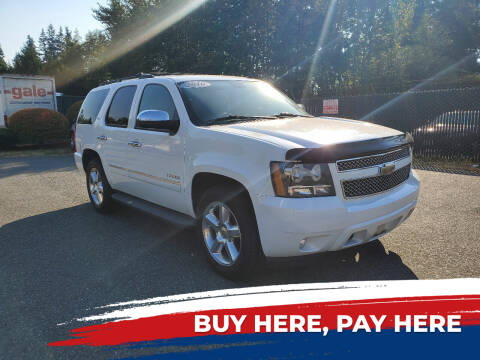 2010 Chevrolet Tahoe for sale at Car Craft Auto Sales Inc in Lynnwood WA