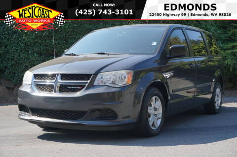 2012 Dodge Grand Caravan for sale at West Coast Auto Works in Edmonds WA