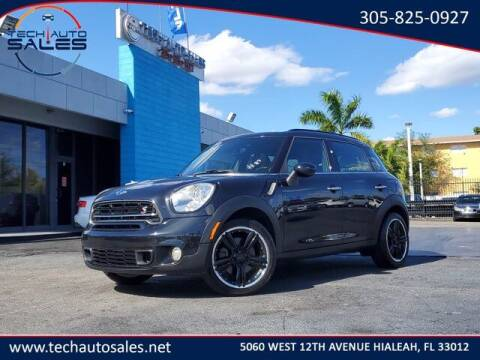 2015 MINI Countryman for sale at Tech Auto Sales in Hialeah FL