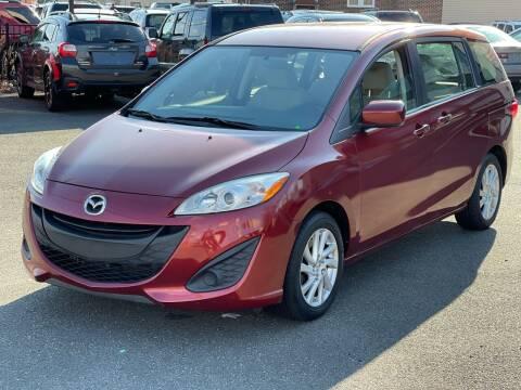 2012 Mazda MAZDA5 for sale at MAGIC AUTO SALES in Little Ferry NJ