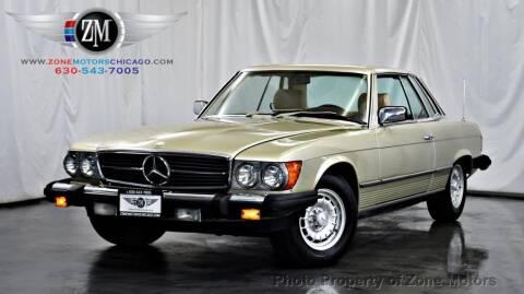 1981 Mercedes-Benz 380 SLC for sale at ZONE MOTORS in Addison IL