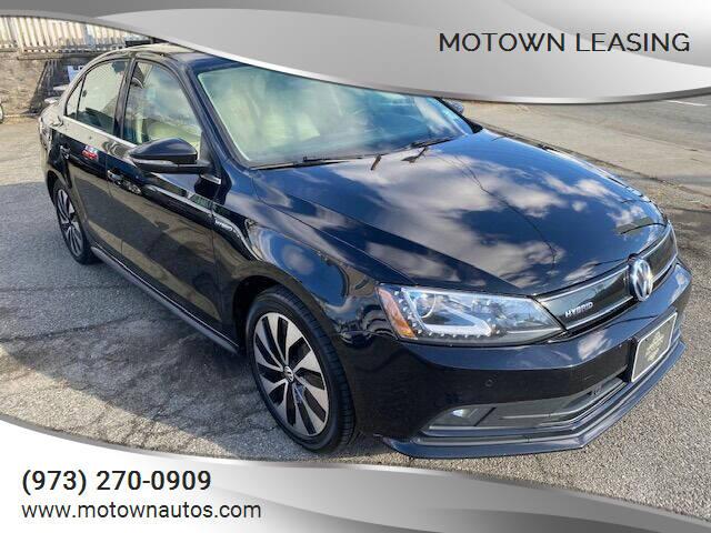 2015 Volkswagen Jetta for sale at Motown Leasing in Morristown NJ