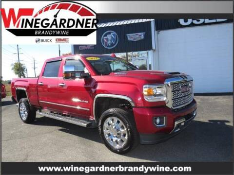 2018 GMC Sierra 2500HD for sale at Winegardner Auto Sales in Prince Frederick MD