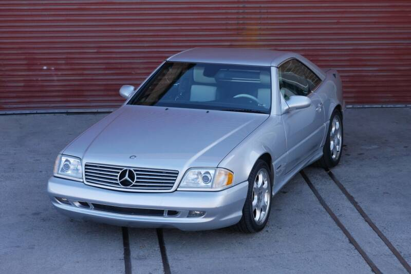 2002 Mercedes-Benz SL-Class for sale at Sierra Classics & Imports in Reno NV
