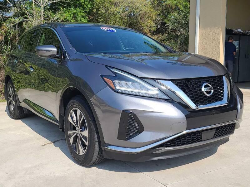 2019 Nissan Murano for sale at Jeff's Auto Sales & Service in Port Charlotte FL