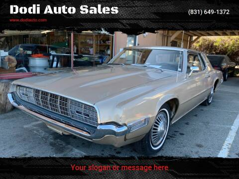 1968 Ford Thunderbird for sale at Dodi Auto Sales in Monterey CA