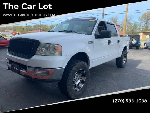 2004 Ford F-150 for sale at The Car Lot in Radcliff KY