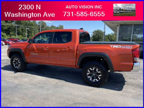 2017 Toyota Tacoma for sale at Auto Vision Inc. in Brownsville TN