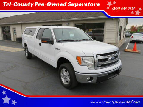 2013 Ford F-150 for sale at Tri-County Pre-Owned Superstore in Reynoldsburg OH