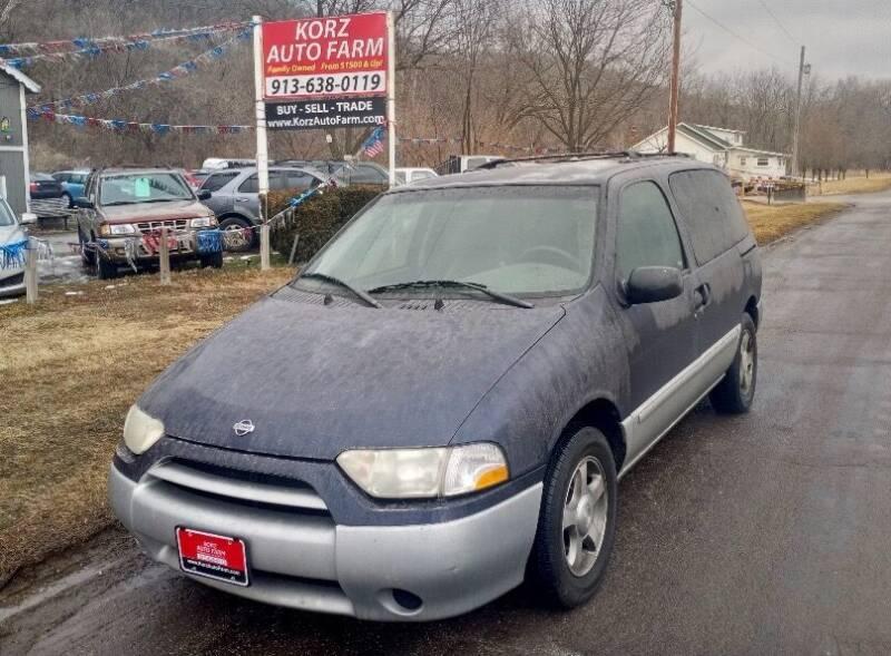 2001 Nissan Quest for sale at Korz Auto Farm in Kansas City KS
