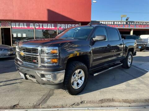 2014 Chevrolet Silverado 1500 for sale at Sanmiguel Motors in South Gate CA