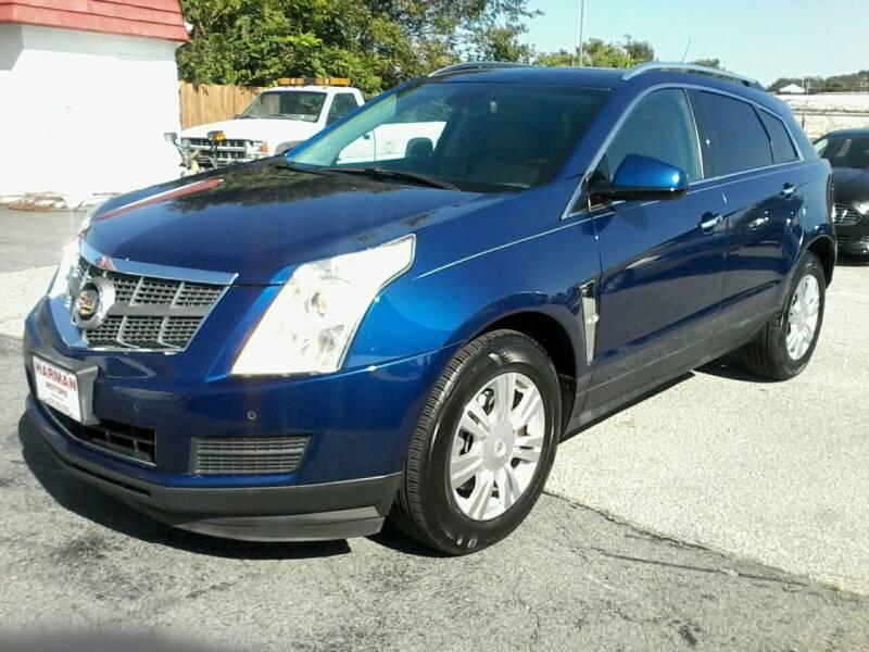 2012 Cadillac SRX for sale at HARMAN MOTORS INC in Salisbury MD