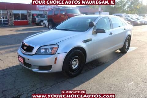 2015 Chevrolet Caprice for sale at Your Choice Autos - Waukegan in Waukegan IL