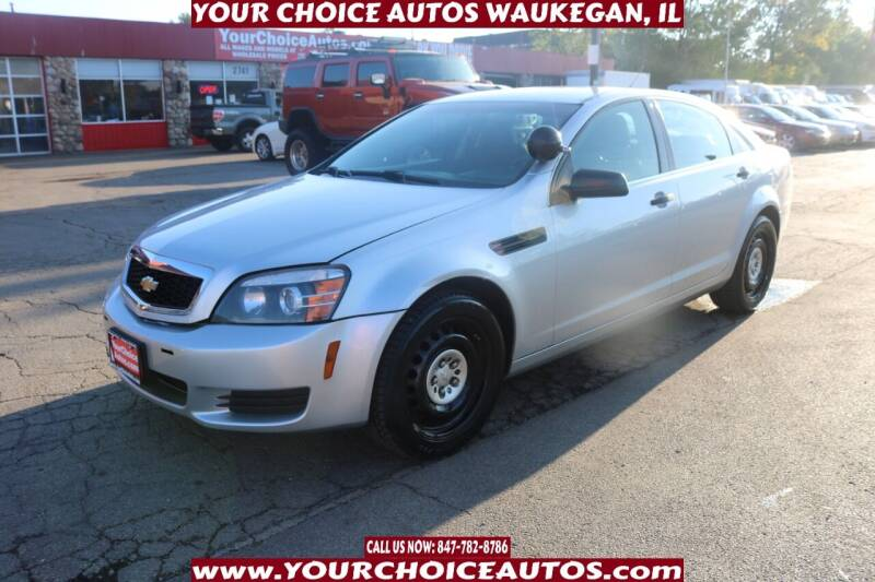 2015 Chevrolet Caprice for sale in Waukegan, IL