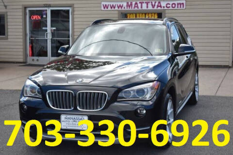 2013 BMW X1 for sale at MANASSAS AUTO TRUCK in Manassas VA
