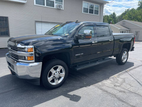 2018 Chevrolet Silverado 2500HD for sale at Glen's Auto Sales in Fremont NH