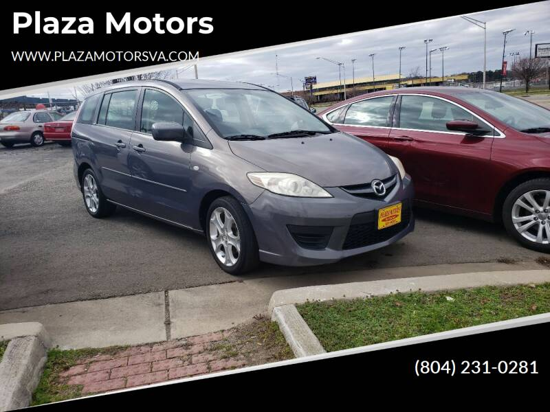 2008 Mazda MAZDA5 for sale at Plaza Motors in Richmond VA