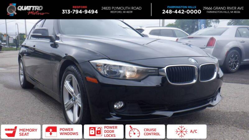 2012 BMW 3 Series for sale at Quattro Motors 2 - 1 in Redford MI