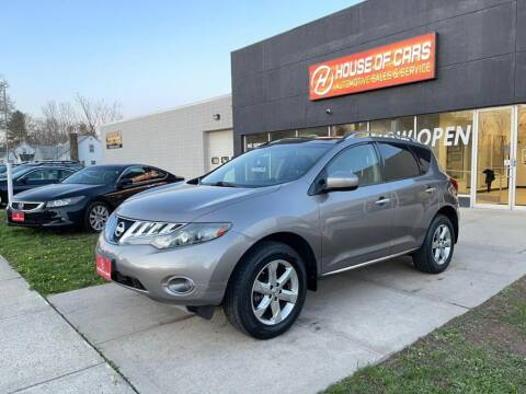 2009 Nissan Murano for sale at HOUSE OF CARS CT in Meriden CT