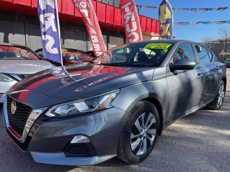 2021 Nissan Altima for sale at Duke City Auto LLC in Gallup NM