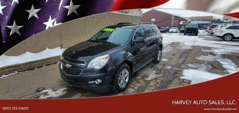 2015 Chevrolet Equinox for sale at Harvey Auto Sales, LLC. in Flint MI