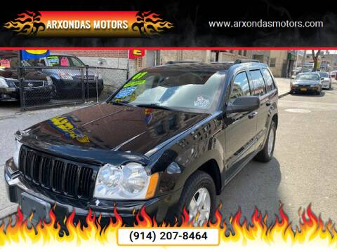 2007 Jeep Grand Cherokee for sale at ARXONDAS MOTORS in Yonkers NY