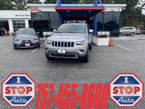 2015 Jeep Grand Cherokee for sale at 1 Stop Auto in Norfolk VA