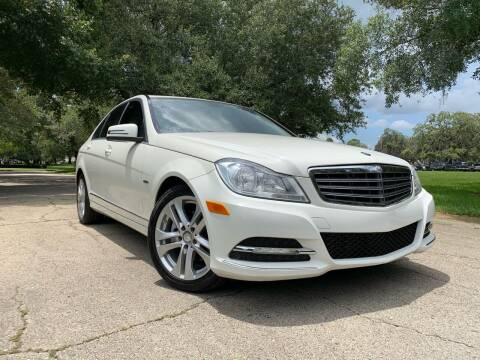 2012 Mercedes-Benz C-Class for sale at FLORIDA MIDO MOTORS INC in Tampa FL