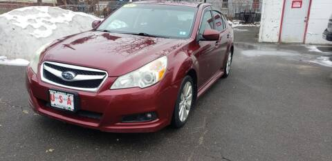 2011 Subaru Legacy for sale at Union Street Auto in Manchester NH